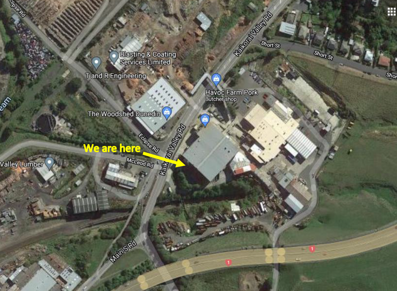 Teagues Commercial and Domestic Services location in Dunedin