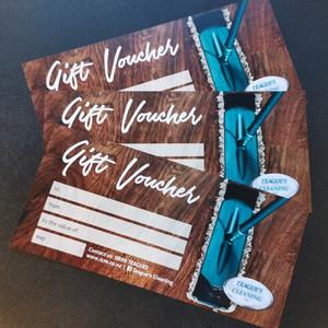 Get a Gift Voucher from Teague's