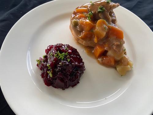 Cibus Catering Evening meal