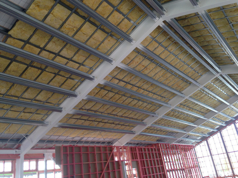 Southtile Christchurch starting to install insulation for St Paul's rebuild to an R5.2 rating