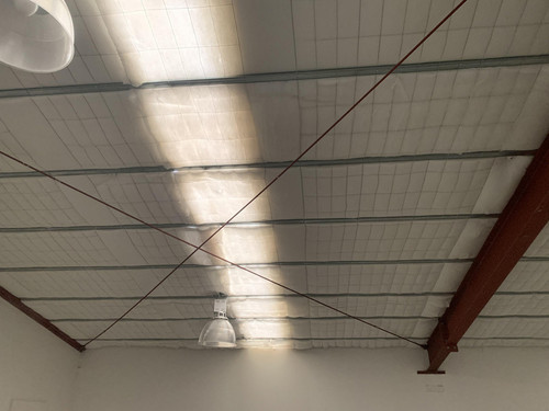 Mammoth ceiling insulation at TIKI WInes, by Southtile