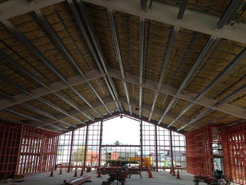 St Pauls Church Papanui, rebuild insulation by Southtile