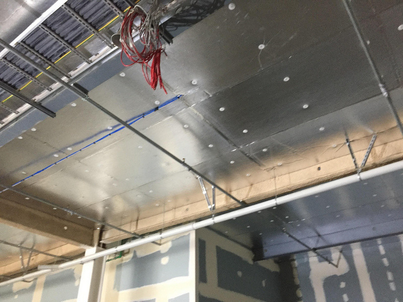 Commercial installation of Autex