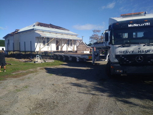 Moving a 110-year-old house from Ashburton to Waimate