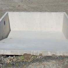 Harvey Tanks Stone Trap for Effluent sheds