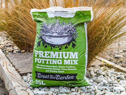 Premium Potting Mix 35L