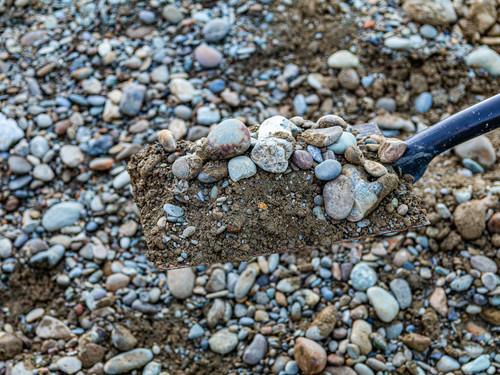 Allied Materials Riverrun Basecourse shovel