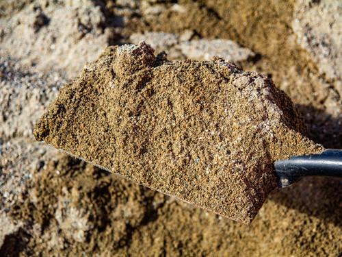 Natural River sand shovel
