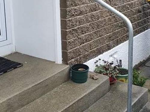Powdercoated Pipe handrail