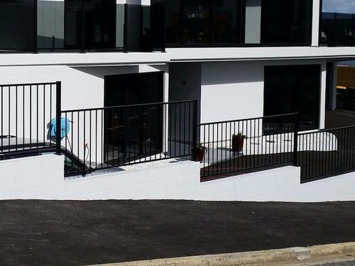 IRONGEAR galvanised panel fencing