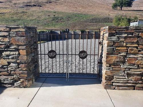 Decorative gate by Otago Engineering