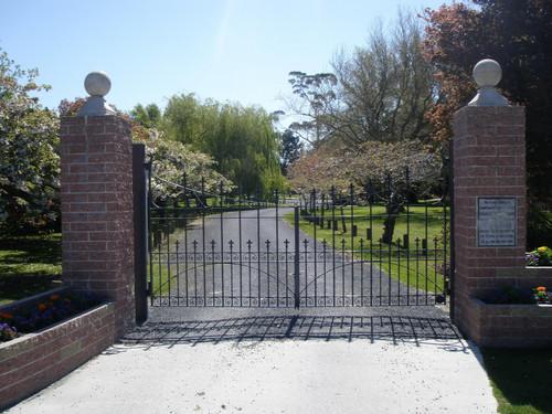 Wrought iron gate Naish Park