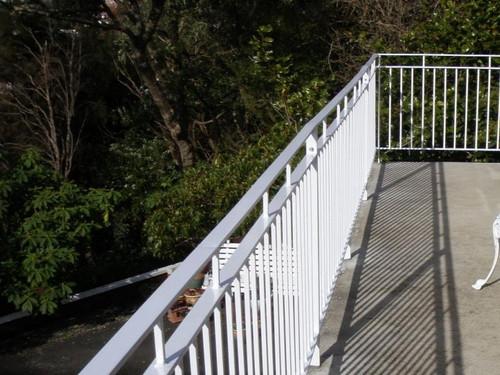 External balustrade by Otago Engineering