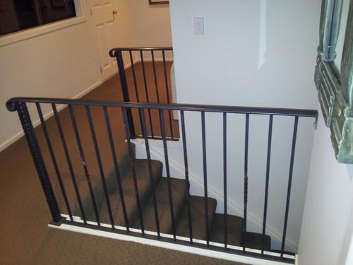 Mezzanine railing