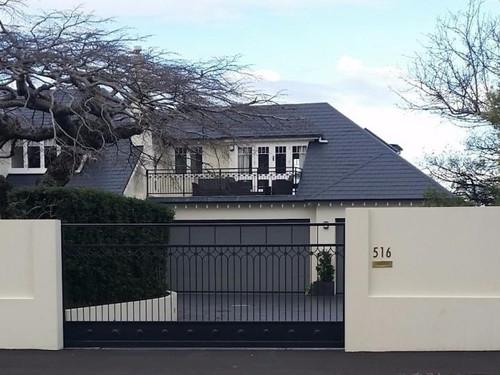Intricate gate in Dunedin by Otago Engineering