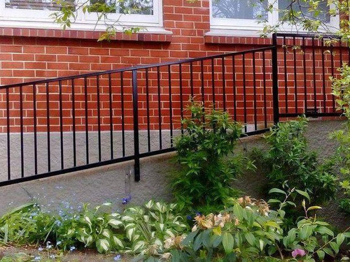 Handrail with pickets manufactured by A.J Grant now Otago Engineering
