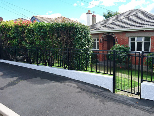 Property fence and gate