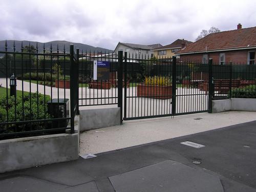University fence