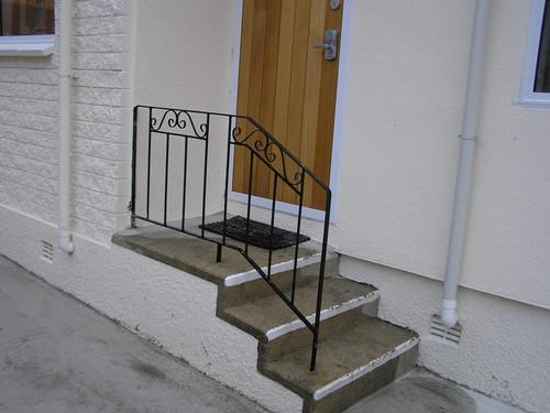 outdoor decorative handrail