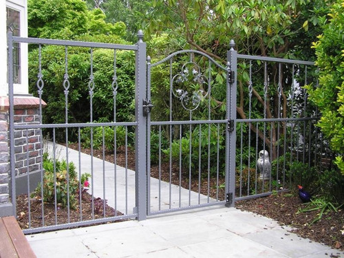 Beautiful gate and panel by Otago Engineering in Dunedin