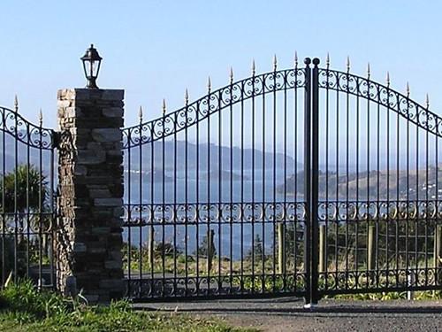Highcliff wrought iron gate