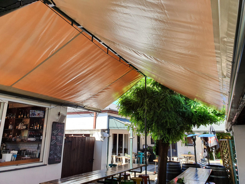 Check out the newly installed Shade Sail by Otago Engineering