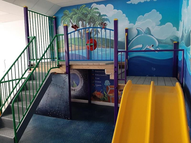 New indoor playground installation by Otago Engineering.
