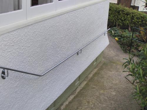 Functional outdoor handrail