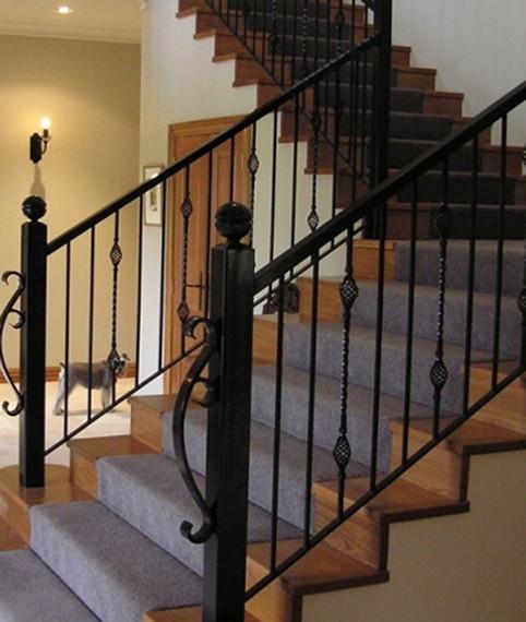 External & internal balustrades, galvanised pipe handrails & decorative handrails