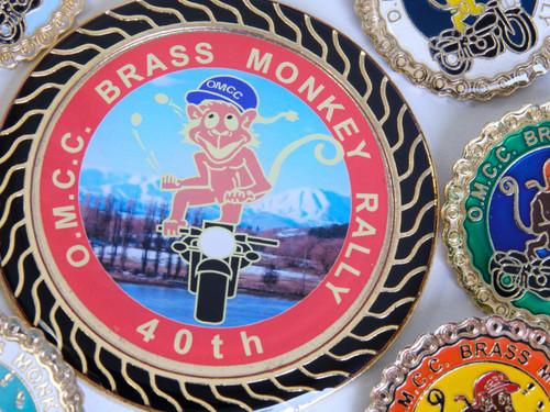Brass Monkey club badges