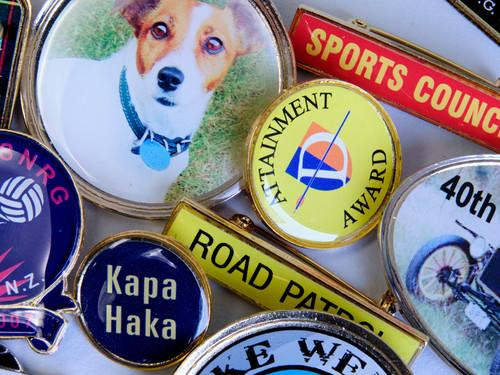 Image transfer badges