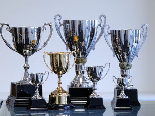 Award cups that can be engraved