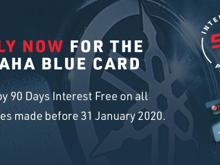 Yamaha Blue Card