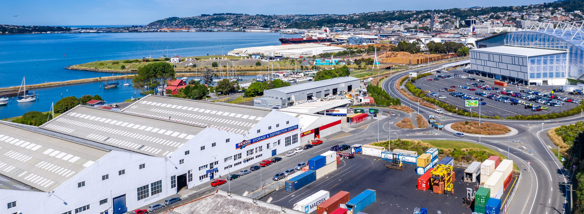 Icon Logistics Panoramic image shot by Turboweb