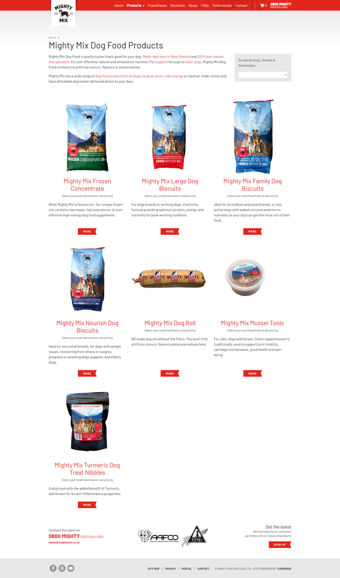 Mighty Mix products