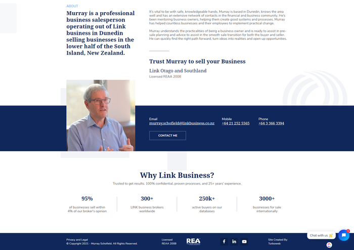 Murray can sell businesses in Dunedin and Otago