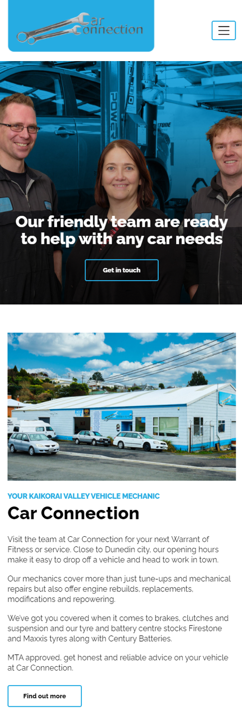 Car connection website by Turboweb