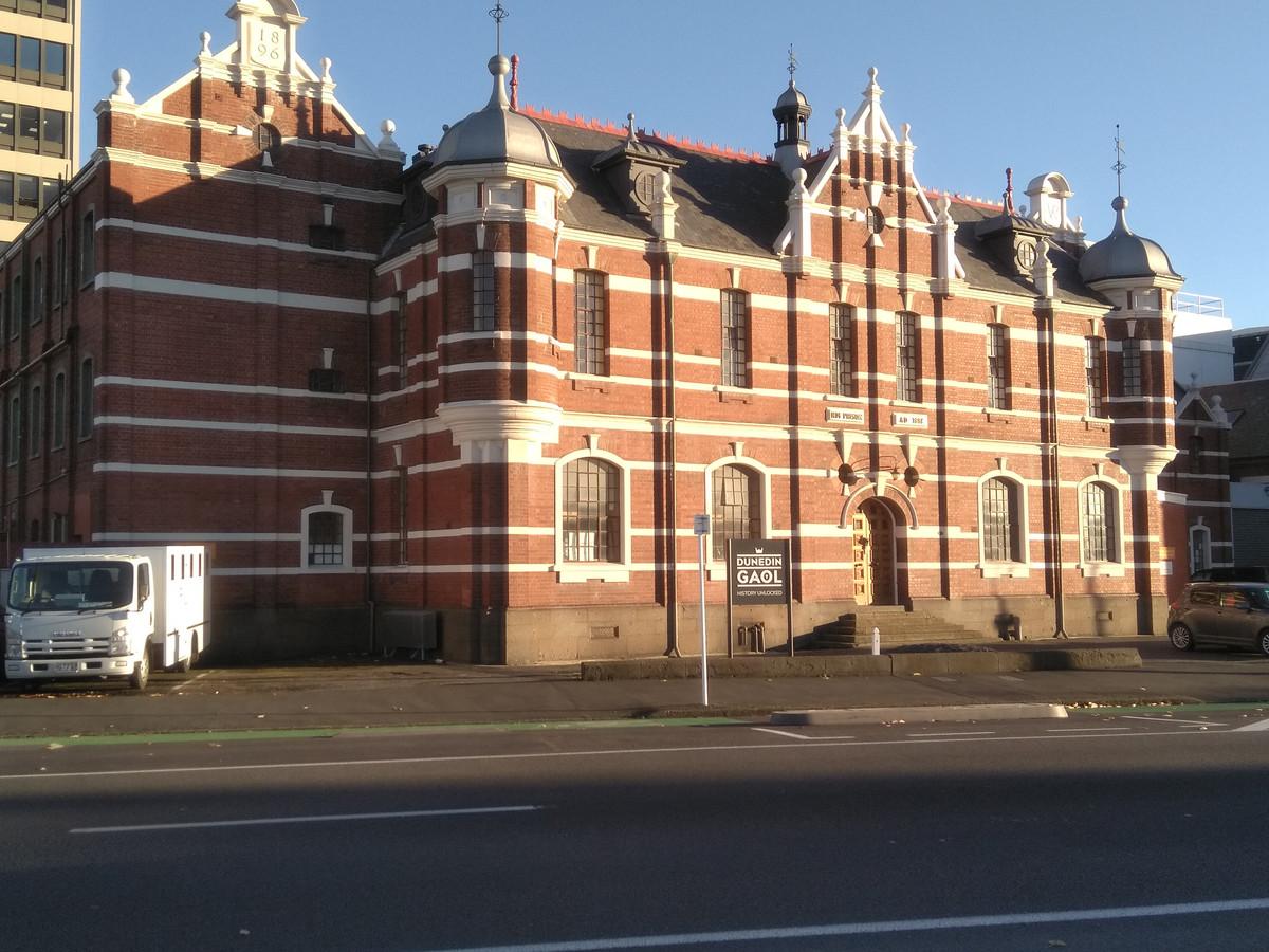 Dunedin's former prison.