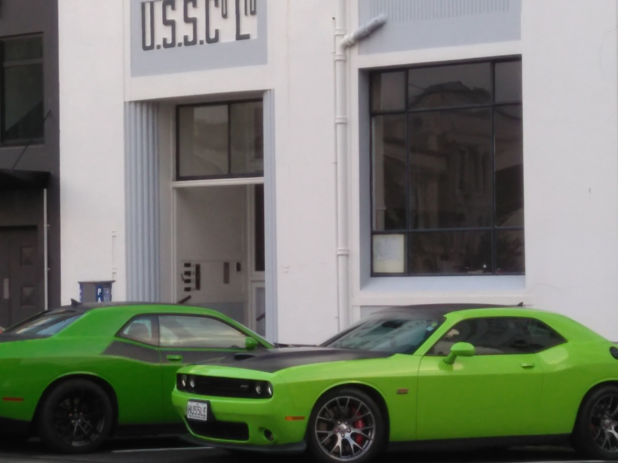 Muscle cars, Water Street..
