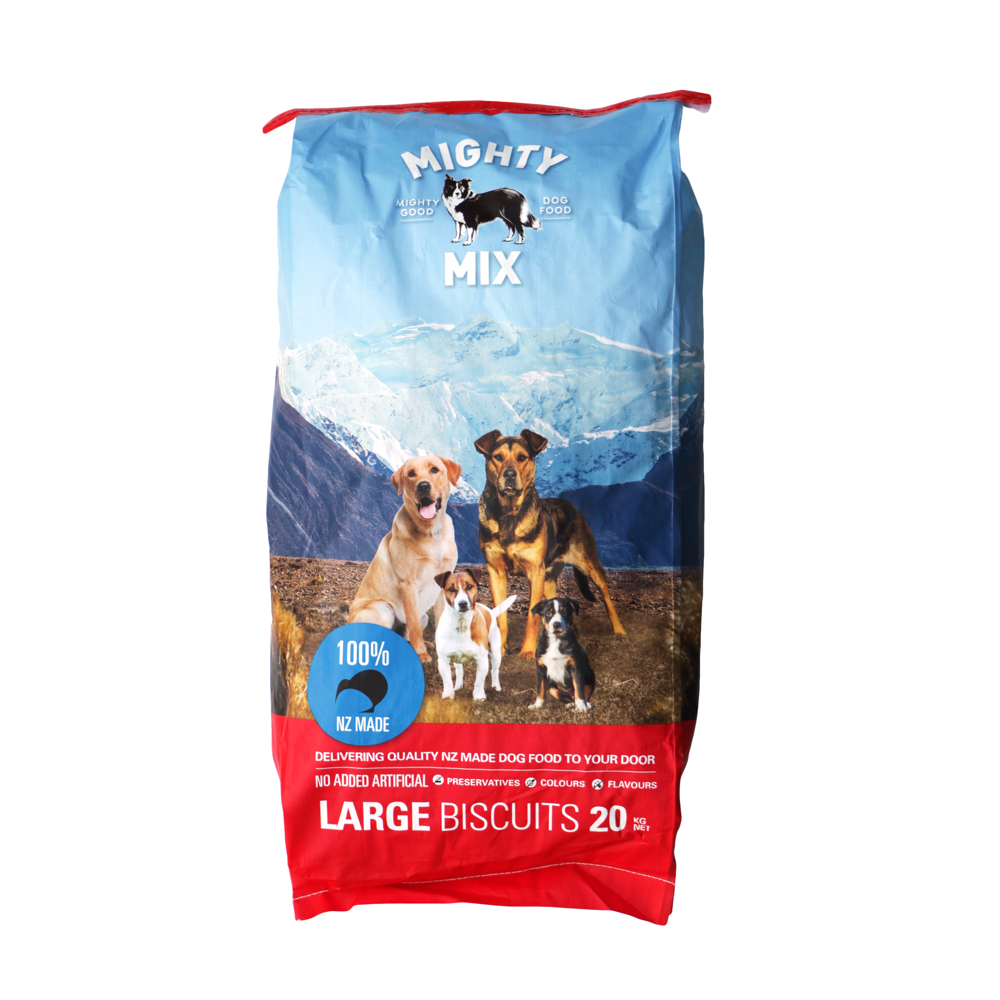 Mighty Mix Large Dog Biscuits