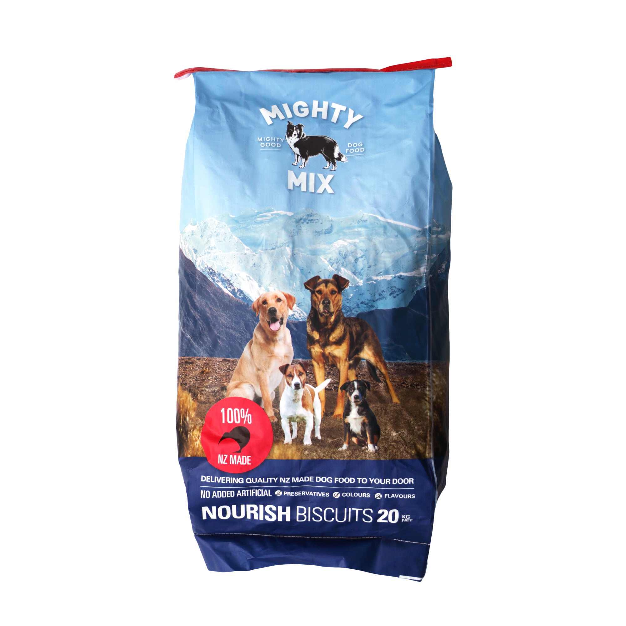 Mighty Mix Nourish Dog Biscuits