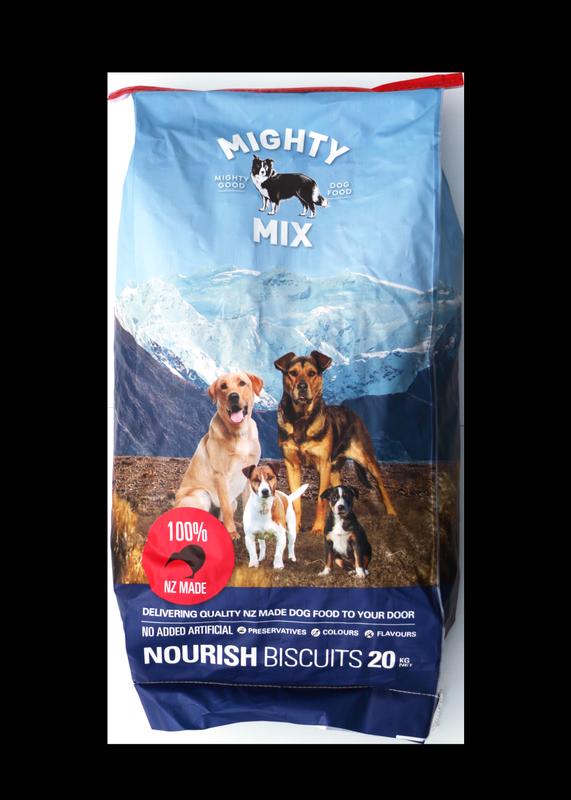 Mighty Mix Nourish Dog Biscuits