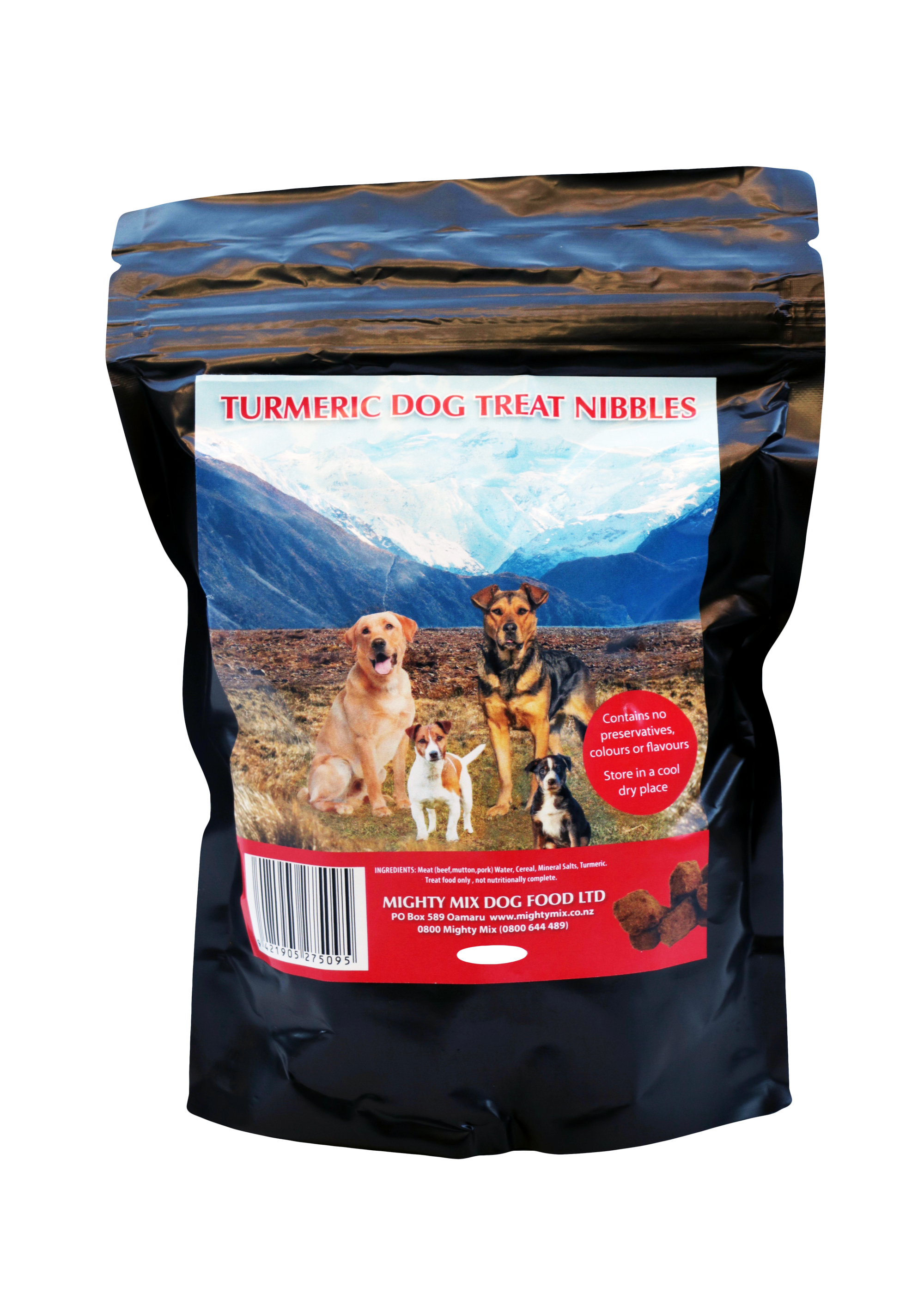 Mighty Mix Turmeric Dog Treat Nibbles