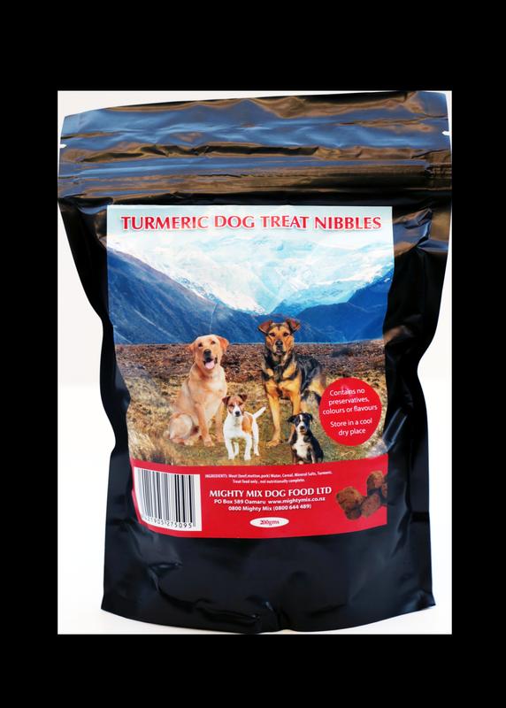 Mighty Mix Turmeric Dog Treat Nibbles
