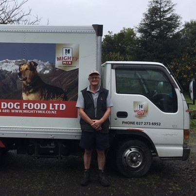 John & Margaret Cropp Mighty Mix Dog Food North East Waikato