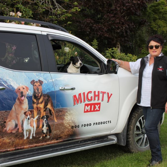 Tania McKenzie Mighty Mix Balclutha Gore Catlins West Otago