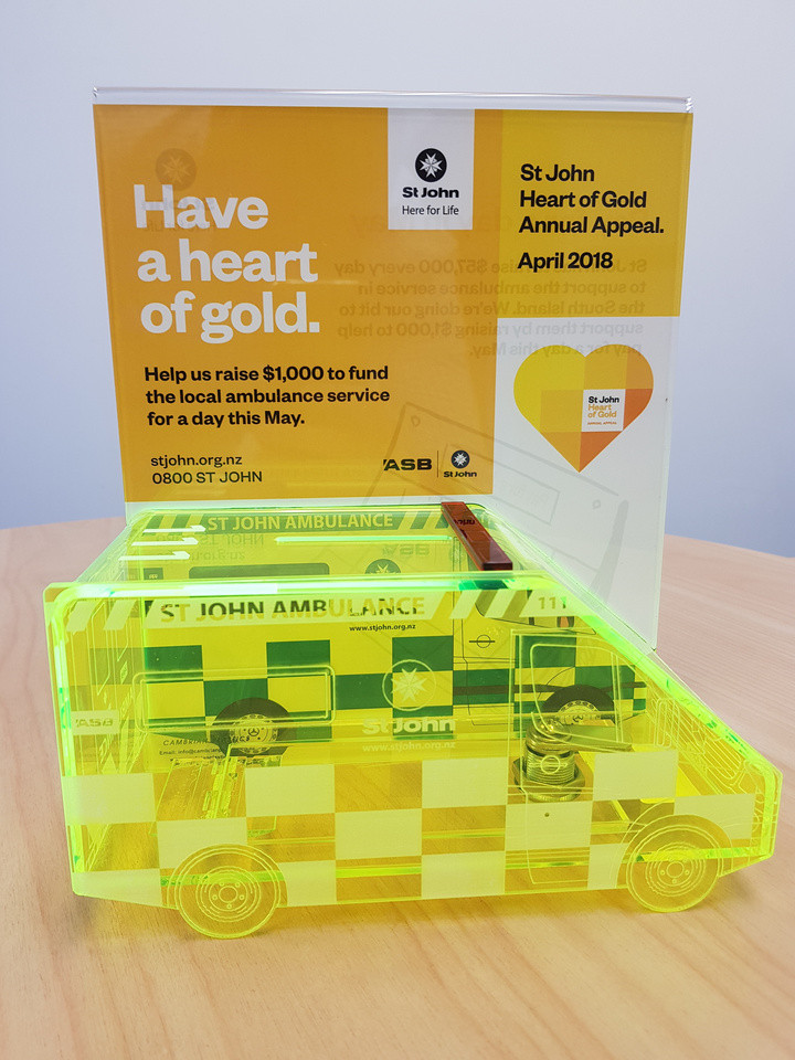 RD Petroleum are part of the St John Heart of Gold Annual Appeal