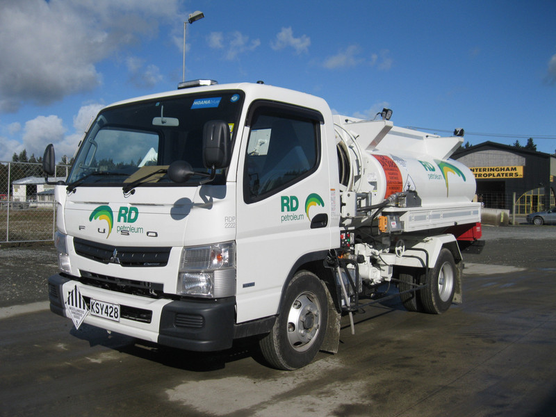 RD Petroleum Home Heating mini-tanker
