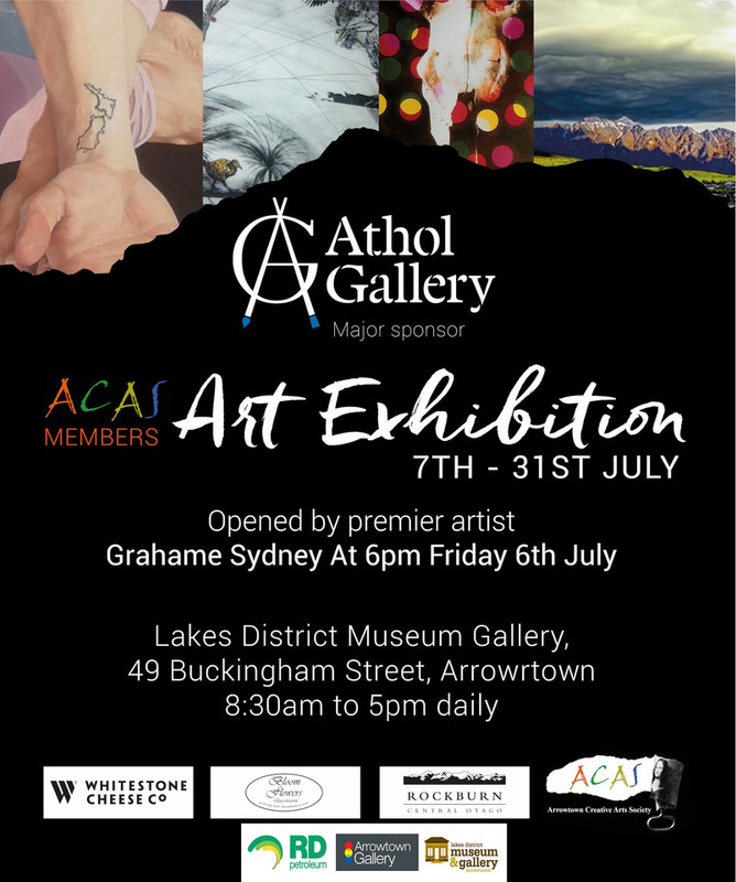 RD Petroleum are sponsoring the ACAS Art Exhibition