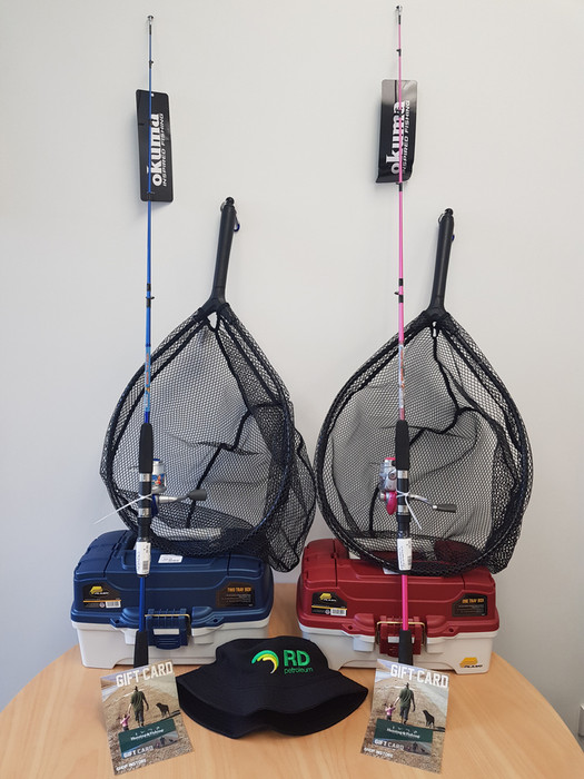 RDP have two fishing packs to giveaway this fishing season